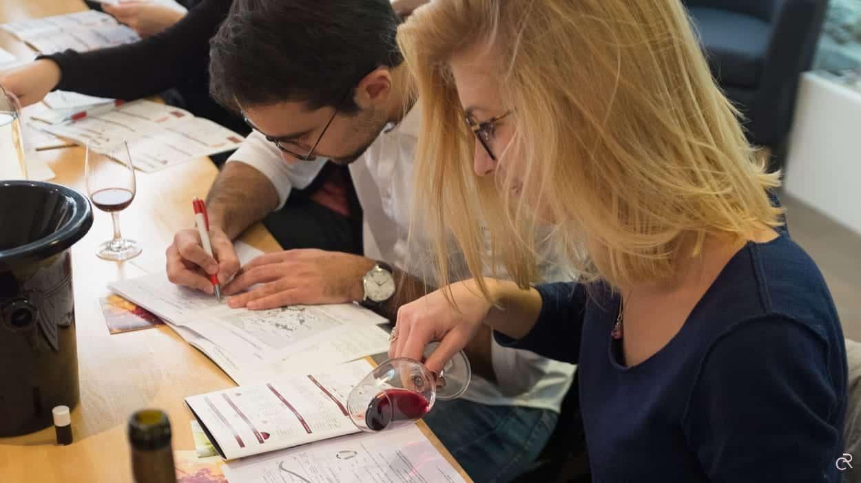 Degustation Cours Oenologie Wset à Distance