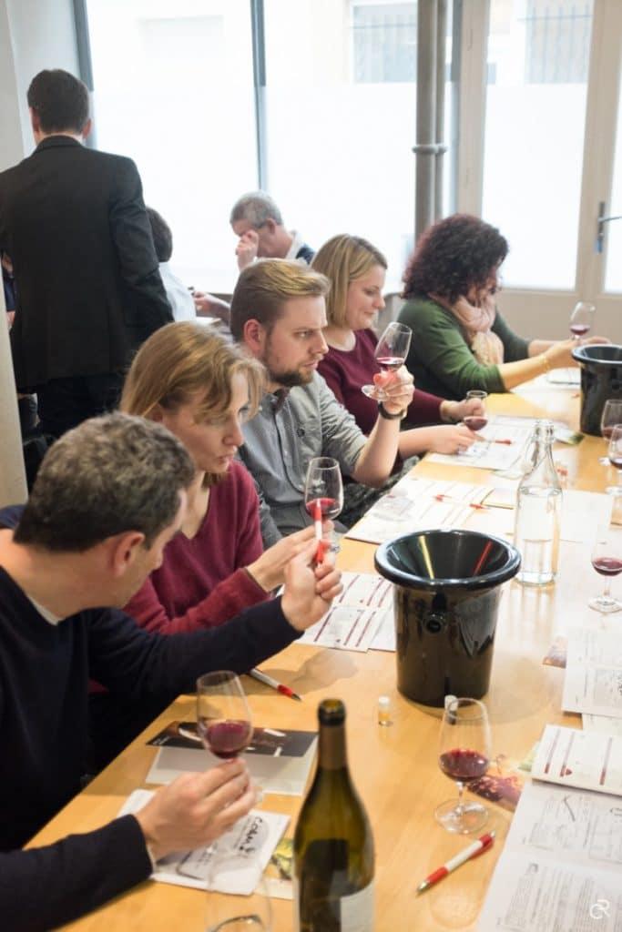 cours degustation vin Paris